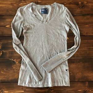 American Eagle lightweight Grey Sweater, M